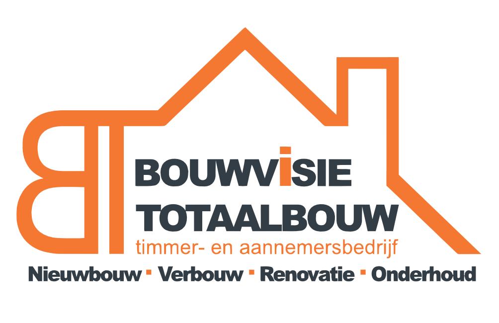 Timmer- en aannemersbedrijf Bouwvisietotaalbouw is thuis in alle markten-logo